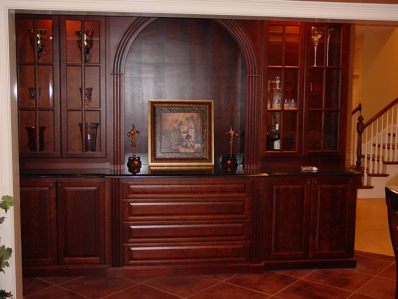 Residential custom cabinetscapitol cabinets - Custom made cabinet ...