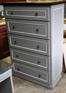 Custom built dresser.