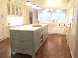 kitchen, island