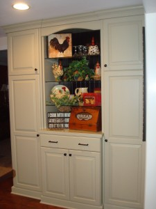 Mrs. Martinu0027s Custom Kitchen Cabinets