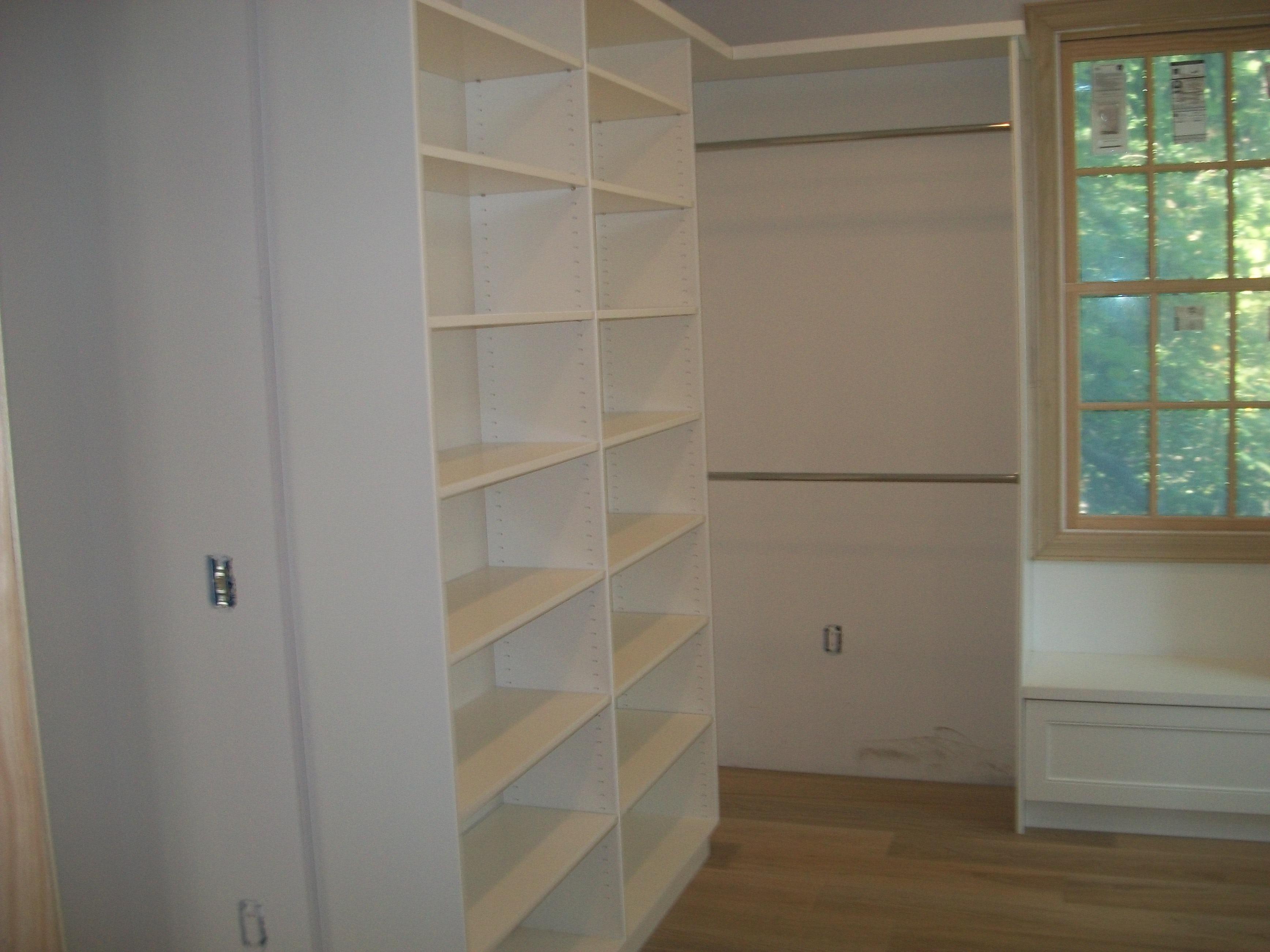 closets pant closet rack coco premier concrete custom garage cabinets flat walk organizers may in michigan sobelman panel angle